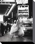 Photo sur toile New york en 1960 en noir et blanc