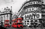 Affiche bus de Londres