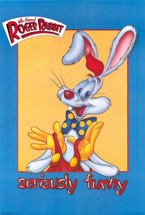 Affiche Roger Rabbit affiche du film qui veut la peau de roger rabbit ? - acheter affiche