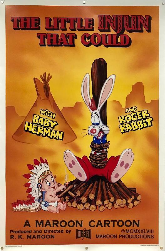 affiche du film qui veut la peau de roger rabbit 1 acheter affiche du film qui veut la. Black Bedroom Furniture Sets. Home Design Ideas