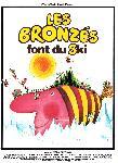 Affiche du film Les Bronzés font du ski