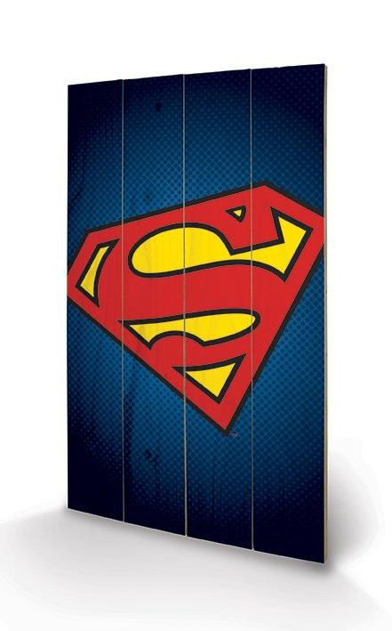 affiches posters impression sur bois dc comics. Black Bedroom Furniture Sets. Home Design Ideas