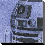 Toile imprimée de la saga Star Wars