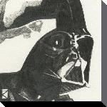 Toile imprimée de la saga Stars Wars