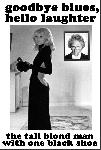 Affiche du film Le Grand Blond avec une chaussure noire