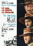 Affiche du western Le Bon, la brute et le truand