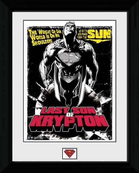 Affiche Encadr E De Superman Acheter Affiche Encadr E De Superman 7620 Affiches Et