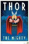 Affiche Marvel Rétro Thor