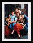 Affiche encadrée de la série Tv Friends