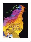 Affiche art print du dessin animé La Belle au bois dormant