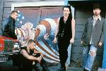 Photo en couleur de u2 dans le film U2: Rattle and Hum