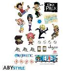 Stickers One Piece avec des SD Characters