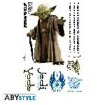 Stickers Star Wars Yoda Echelle 1