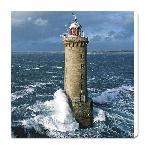 Impression sur toile Phare de Kéréon - Finistère - Bretagne