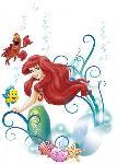 Sticker du dessin animé La Petite Sirène