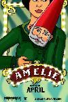 Affiche du film Le Fabuleux destin d'Amélie Poulain
