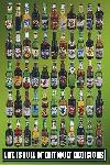 Poster Bières du monde