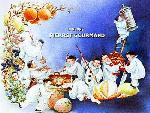 Affiche vintage des Bonbons Pierrot Gourmand