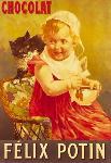 Affiche ancienne Chocolat Felix Potin