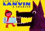 Affiche publicitaire du Chocolat Lanvin