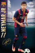 Poster du footballeur Neymar