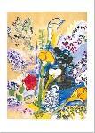 Affiche d'art de Raoul DUFY Le bouquet d'arums