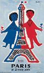 Affiche de Paris en 1951