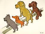 Dessin de chiens