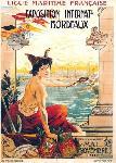 Affiche d'exposition Bordeaux 1907