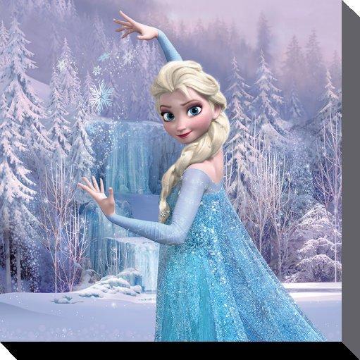 impression sur toile de la reine des neiges acheter impression sur toile de la reine des neiges 8747 affiches et posterscom - Reine Ds Neiges