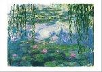 Affiche d'art de Claude MONET Nymphéas