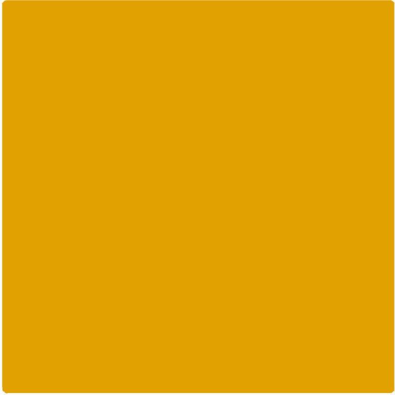 Sticker autocollant film polymère doré effet métallique