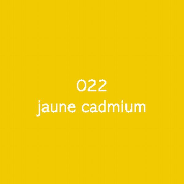 Sticker autocollant film monomère jaune vif