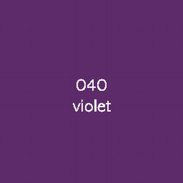 Sticker autocollant film monomère violet