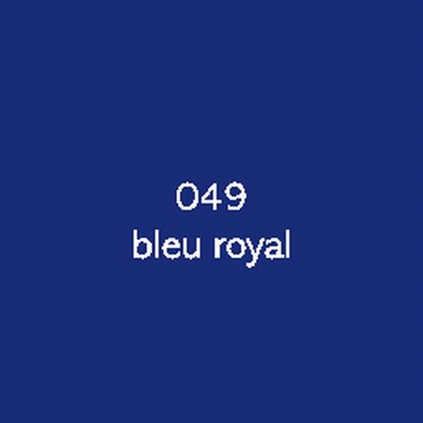 Sticker autocollant film monomère bleu royal
