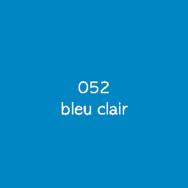 Sticker autocollant film monomère bleu clair